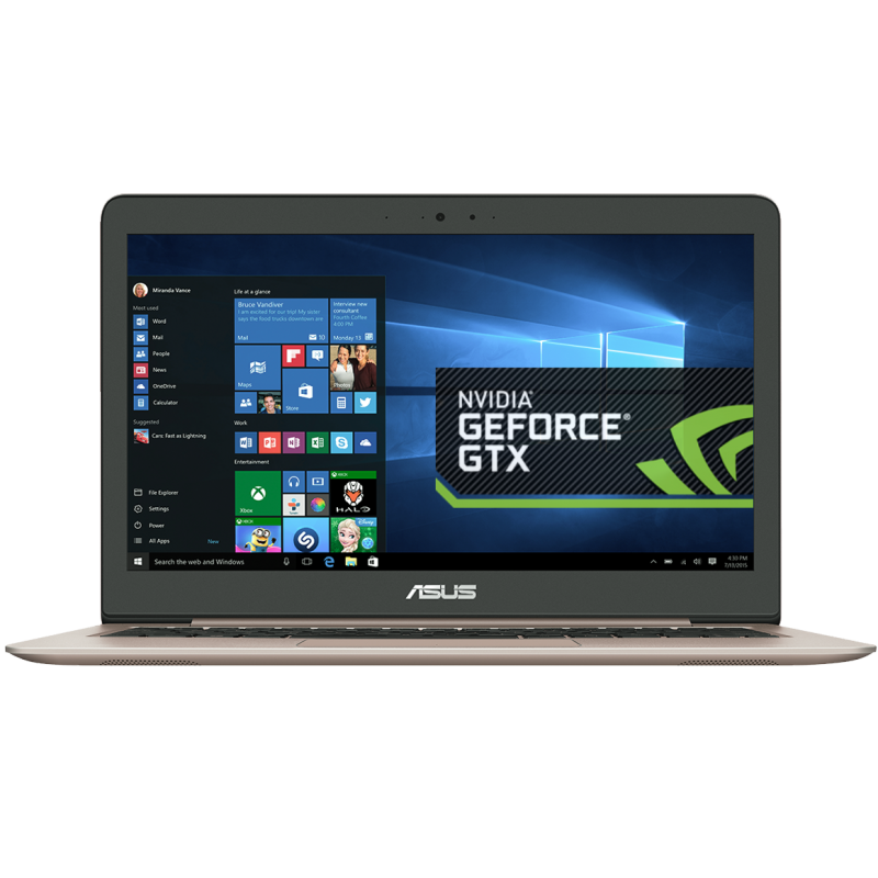 "Asus Zenbook 13"" - i7 - 8Gb - Geforce"