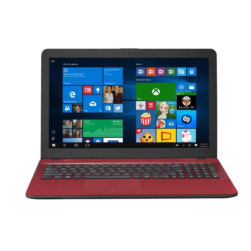 Asus VivoBook - F541NA - Dual Core - 4Gb - 500Gb - Red
